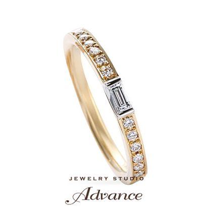 【JEWELRY STUDIO Advance(ジュエリースタジオアドバンス)】【Advance】Clarte(クラルテ)『ハーフエタニティリング』
