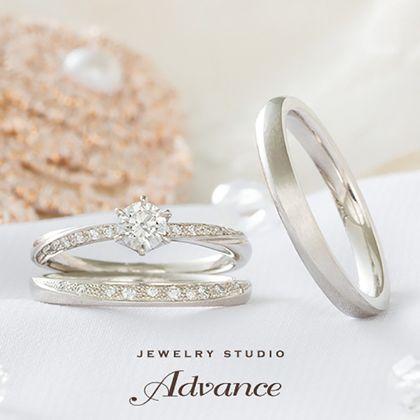 【JEWELRY STUDIO Advance(ジュエリースタジオアドバンス)】【Advance】Clair(クレール)『大人の女性の遊び心が詰まったリング』