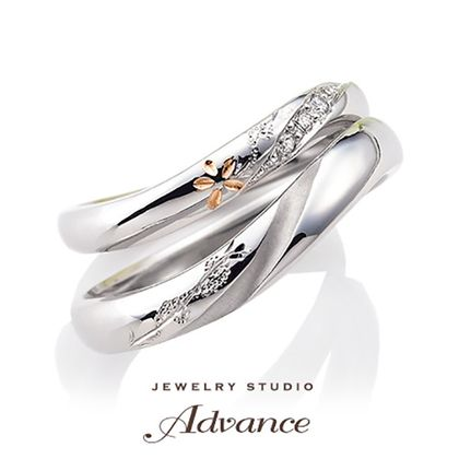 【JEWELRY STUDIO Advance(ジュエリースタジオアドバンス)】【Advance】Bride flower(ブライドフラワー)『お花がポイント』