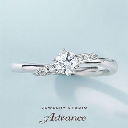 【JEWELRY STUDIO Advance(ジュエリースタジオアドバンス)】【Advance】 Chaleur(シャルー)『温もりある日々に幸せを運んでくれる』
