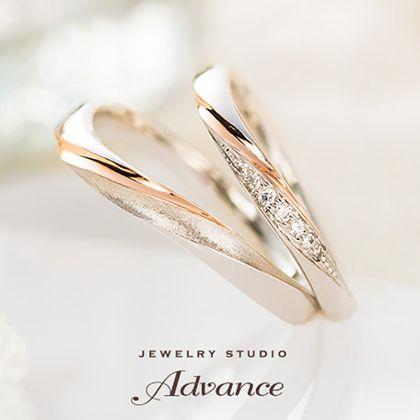 【JEWELRY STUDIO Advance(ジュエリースタジオアドバンス)】【Advance】Chandelier(シャンデリア)『装飾的な華やかリング』