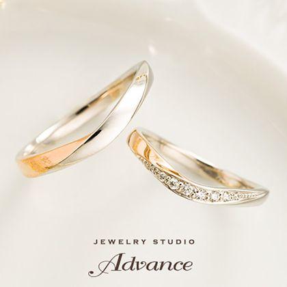 【JEWELRY STUDIO Advance(ジュエリースタジオアドバンス)】【Advance】Chiffon(シフォン)『優しく華やかなデザイン』