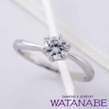 【WATANABE / 卸商社直営 渡辺】[WATANABE]ダイヤだけでなく、指までより美しく魅せるリング
