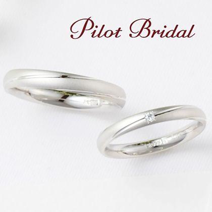 【PILOT BRIDAL(パイロットブライダル)】しっとりとしたつや消しデザインは指先になじみ優しい印象に。〈Pledge〉