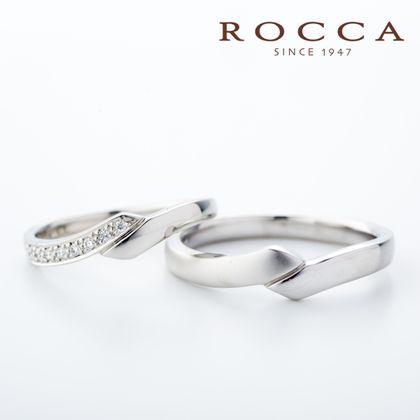 【ROCCA(ロッカ)】【ROCCA】シンプルでも二人だけの個性を!ラインの綺麗なマリッジリング