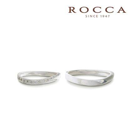 【ROCCA(ロッカ)】【ROCCA】シンプルで仕事中も着けやすいS字のマリッジリング