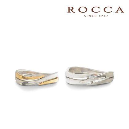 【ROCCA(ロッカ)】【ROCCA】流れるようなライン!スタイリッシュなマリッジリング