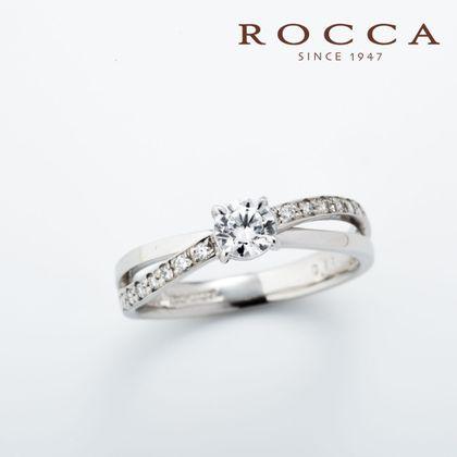 【ROCCA(ロッカ)】【ROCCA】シンプルかつスタイリッシュなエンゲージリング