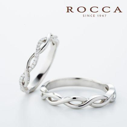 【ROCCA(ロッカ)】【ROCCA】重ね着けにも抜群!華奢なマリッジリング