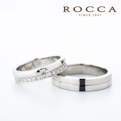 【ROCCA(ロッカ)】【ROCCA】幅広でも着けごこち抜群!スタイリッシュなマリッジリング
