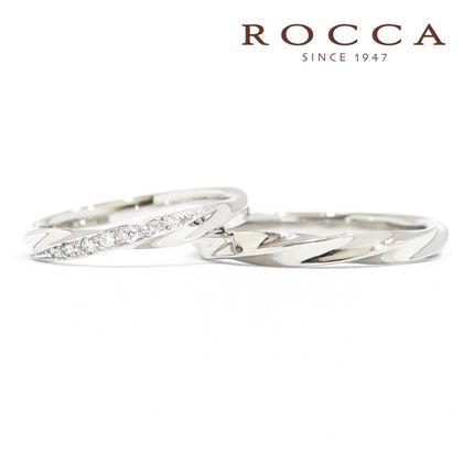【ROCCA(ロッカ)】*New*【ROCCA】シンプルで仕事中も着けやすいマリッジリング (結婚指輪)