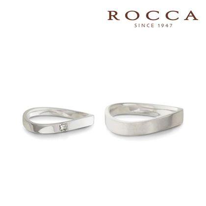 【ROCCA(ロッカ)】【ROCCA】シンプルで仕事中も着けやすいスタイリッシュなマリッジリング