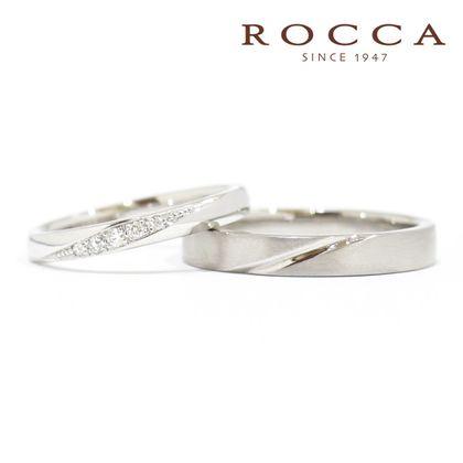 【ROCCA(ロッカ)】*New*【ROCCA】重ね付けにもぴったり!シンプルマリッジリング