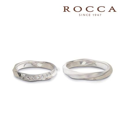 【ROCCA(ロッカ)】【ROCCA】シンプルで仕事中も着けやすいマリッジリング