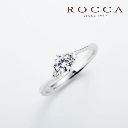 【ROCCA(ロッカ)】【ROCCA】サイドメレが可愛い!シンプルエンゲージリング