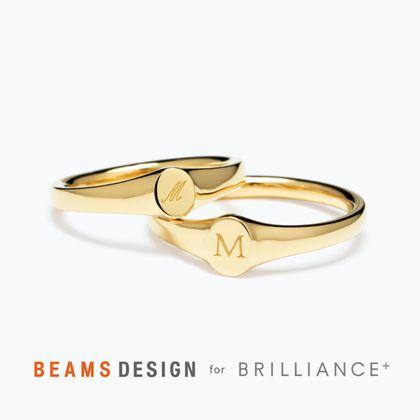 【BRILLIANCE+(ブリリアンスプラス)】★BEAMS DESIGN★Signet(シグネット)