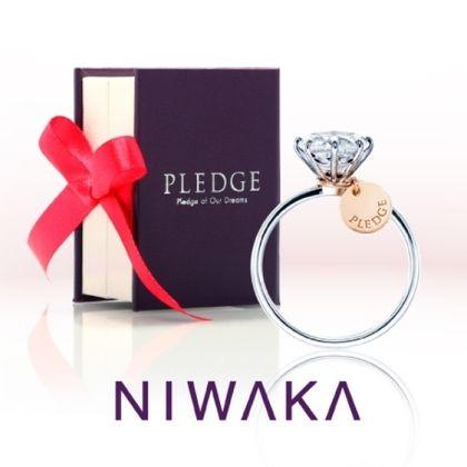 【yamatoya(ヤマトヤ)】プロポーズを応援するスペシャルリング「PLEDGE for WEDDING」