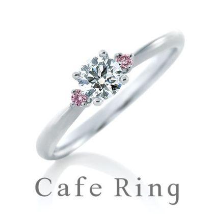 【BROOCH(ブローチ)】【アイレス】可愛いらしいピンクのつばさがダイヤを支える