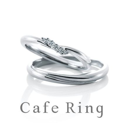 【BROOCH(ブローチ)】【ブルジョン】繊細にダイヤモンドを留めたマリッジリング