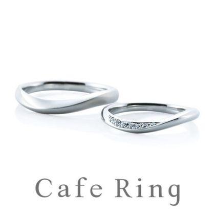 【BROOCH(ブローチ)】【アヴェール】ダイヤモンドから広がる光のラインが美しい結婚指輪