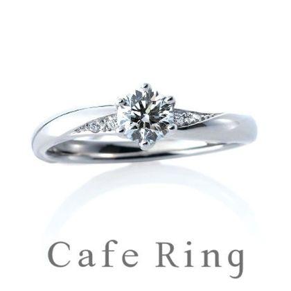 【BROOCH(ブローチ)】【プラージュ デュー】重ねづけも美しいエレガントな婚約指輪