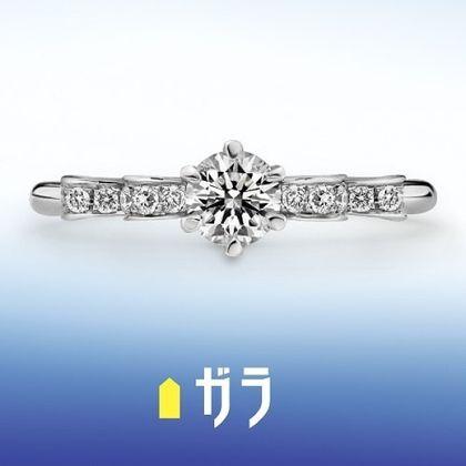 【ガラOKACHIMACHI】【ガラ】 エンゲージリング ~アヌー~