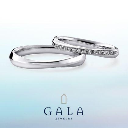 【GALA JEWELRY(ガラジュエリー)】GALA_マリッジリング〜キュート〜