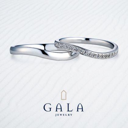 【GALA JEWELRY(ガラジュエリー)】GALA_マリッジリング〜ゴージャス〜