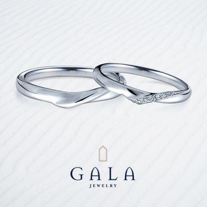 【GALA JEWELRY(ガラジュエリー)】GALA_マリッジリング〜エレガント〜