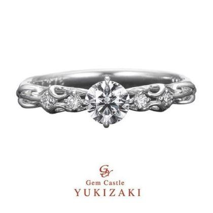 【YUKIZAKI BRIDAL(ユキザキブライダル)】【Gem Castle YUKIZAKI】ヴァーミリオン
