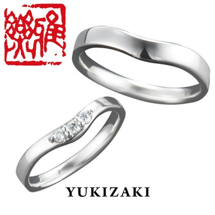 【Gem Castle YUKIZAKI(ジェムキャッスルゆきざき)】【Gem Castle YUKIZAKI】楓(かえで) [雅楽](結婚指輪)