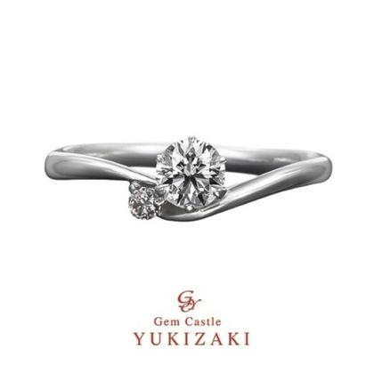【YUKIZAKI BRIDAL(ユキザキブライダル)】【Gem Castle YUKIZAKI】ローズティリアン