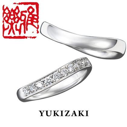 【Gem Castle YUKIZAKI(ジェムキャッスルゆきざき)】【Gem Castle YUKIZAKI】雪化粧(ゆきげしょう) [雅楽](結婚指輪)