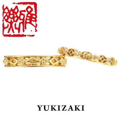 【Gem Castle YUKIZAKI(ジェムキャッスルゆきざき)】【Gem Castle YUKIZAKI】白樺(しらかば) [雅楽](結婚指輪)