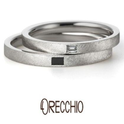 【VANillA(ヴァニラ)】アダージョ~マットな仕上げのオリジナルシルキー仕上げでクールな印象の結婚指輪