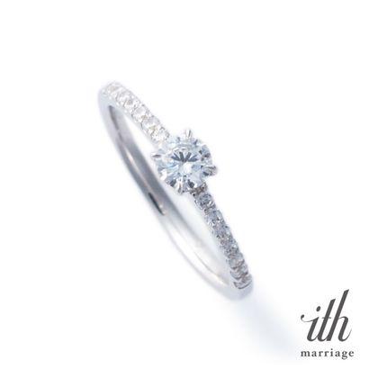【ith(イズ)】【バタフライが支える幸せのダイヤモンド】ファルファーラ / Farfalla