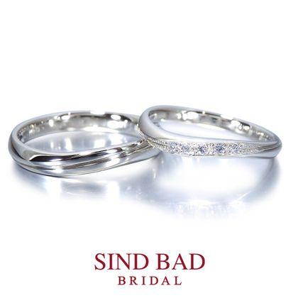 【SIND BAD(シンドバット)】結婚指輪【波瑠 はる】