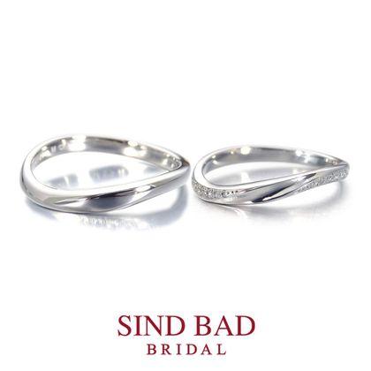 【SIND BAD(シンドバット)】結婚指輪【永遠(とわ)】