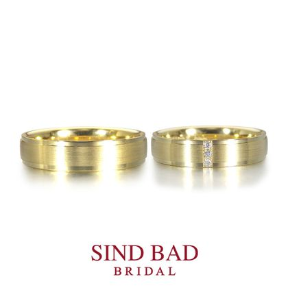 【SIND BAD(シンドバット)】ヨーロッパ 鍛造 リング 【Rauschmayer ラウシュマイヤー】 イエローゴールド 4.5mm幅
