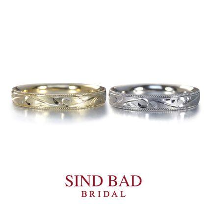 【SIND BAD(シンドバット)】和彫シリーズ -TAKUMI- ゆったり唐草