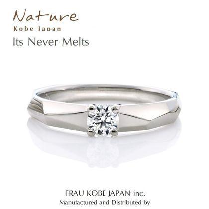 【FRAU KOBE JAPAN(フラウ コウベ ジャパン)】It never melts/氷の指輪