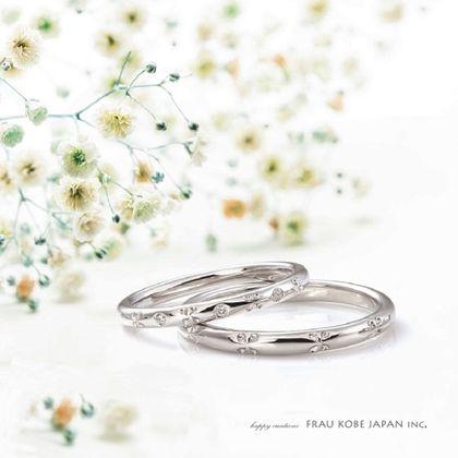 【FRAU KOBE JAPAN(フラウ コウベ ジャパン)】'BABY'S BREATH/かすみ草の指輪'