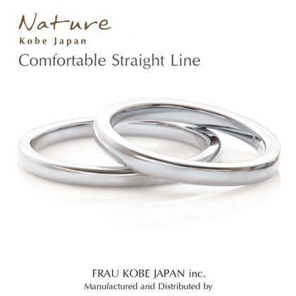 【FRAU KOBE JAPAN(フラウ コウベ ジャパン)】'Comfortable atright line/ストレートリング'