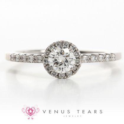 【VENUS TEARS(ヴィーナスティアーズ)】0.3ctダイヤ込価格Pt900【MMAGE18-03】