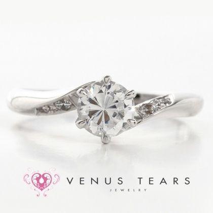 【VENUS TEARS(ヴィーナスティアーズ)】0.5ctダイヤ込価格Pt900【P452-05】
