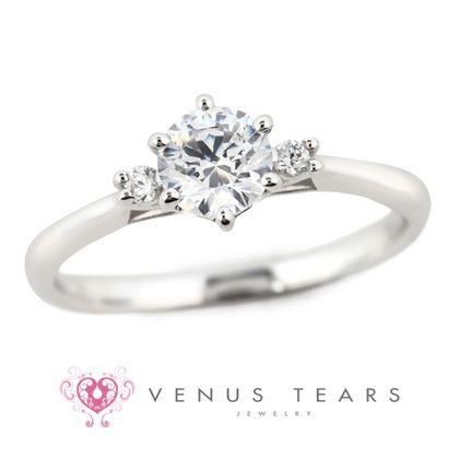 【VENUS TEARS(ヴィーナスティアーズ)】0.5ctダイヤ込価格Pt900【SOE7-05】