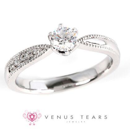 【VENUS TEARS(ヴィーナスティアーズ)】0.3ctダイヤ込価格Pt900【ACE8-03】