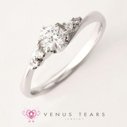 【VENUS TEARS(ヴィーナスティアーズ)】0.3ctダイヤ込価格Pt900【FES84-03】
