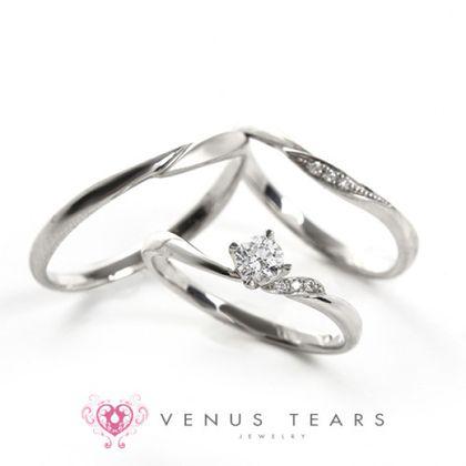 【VENUS TEARS(ヴィーナスティアーズ)】3本セット税込198000円【201】0.2ct Fカラー VS2 EXカット