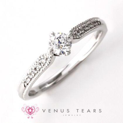 【VENUS TEARS(ヴィーナスティアーズ)】0.2ctダイヤ込価格Pt900【MMRVE57-02】